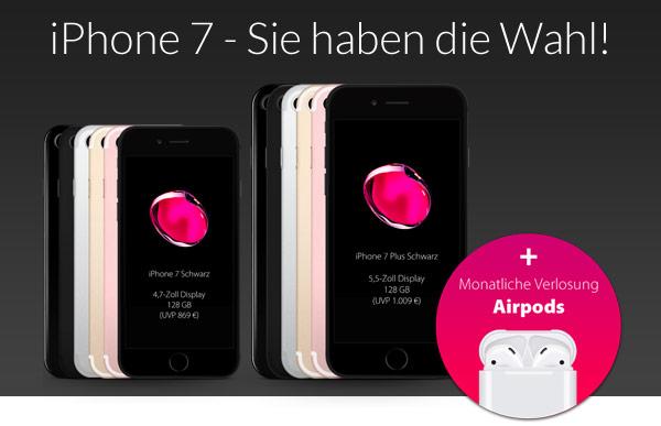 Gewinne jetzt das iPhone 7!