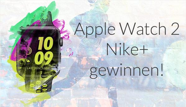 Gewinne jetzt eine Apple Watch 2 Nike+!