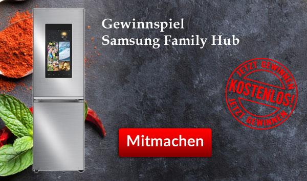 Samsung Family Hub Gewinnspiel