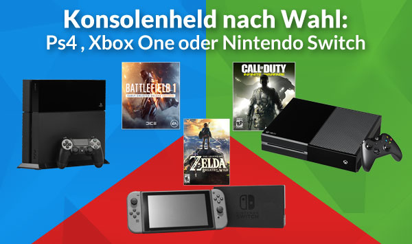 XBOX ONE PS4 Nintendo Switch